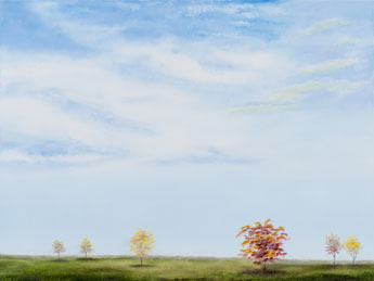 Autumn Sky I painting