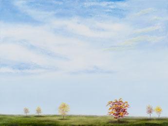 Autumn Sky I painting