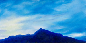 Evening Sky painting