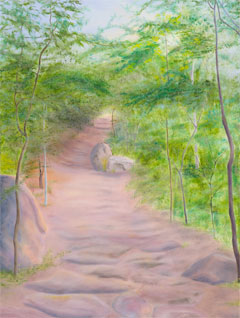 Mountain Path painting