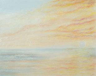 Shimmering Skies painting
