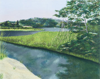 Fresh Pond - print