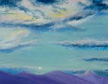 Moonrise - painting