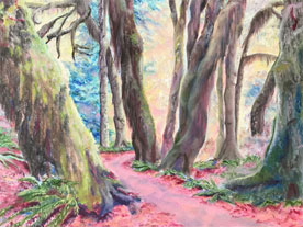 Northwest Path - painting