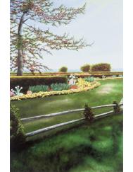 Georgica Gardens print